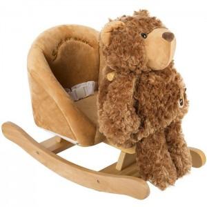 Детское кресло - качалка Медвежонок 3в1