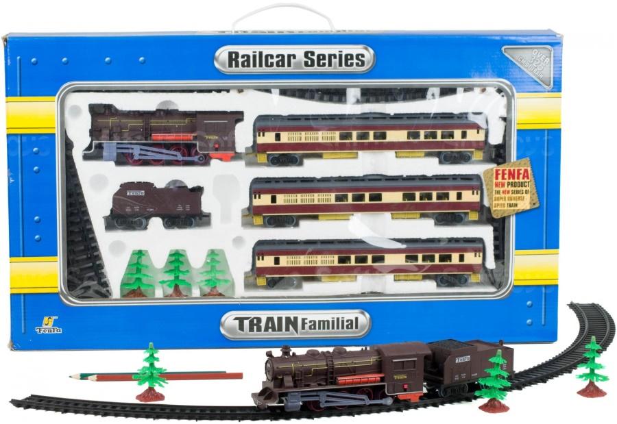 Железная дорога Пассажирский паровоз 1:87