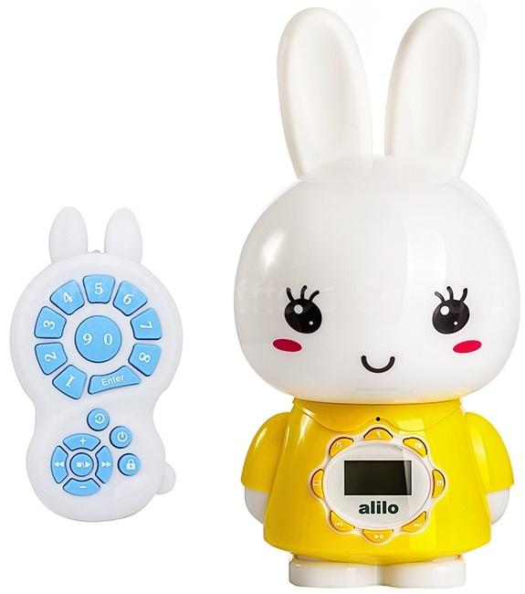 Интерактивная игрушка ночник-плеер Alilo Big Bunny G7_Yellow