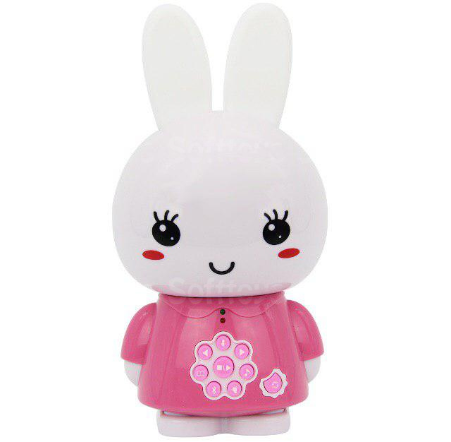 Интерактивная игрушка ночник-плеер Alilo Honey Bunny G6xPink