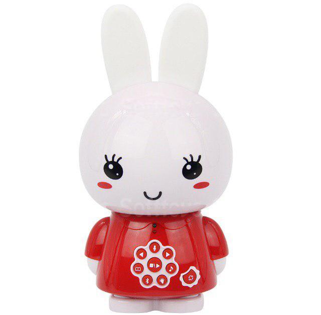 Интерактивная игрушка ночник-плеер Alilo HoneyBunny G6xRed