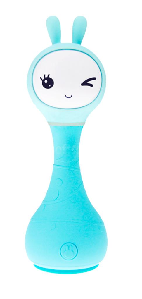 Интерактивная обучающая игрушка с ночником Alilo Smarty Зайка R1_Blu