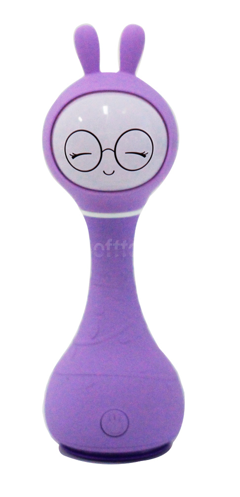 Интерактивная обучающая игрушка с ночником Alilo Smarty Зайка R1_Violet