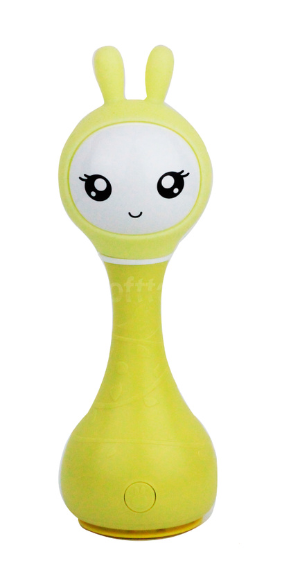 Интерактивная обучающая игрушка с ночником Alilo Smarty Зайка R1_Yellow