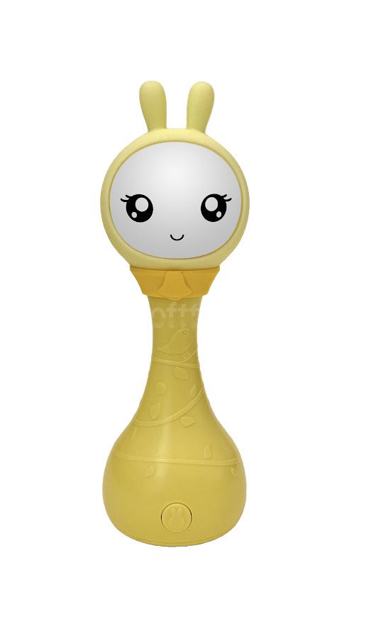 Интерактивная обучающая игрушка с ночником Alilo Зайка R1_YoYo_Yellow