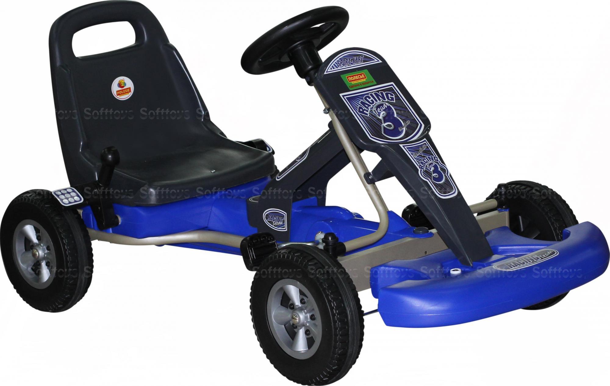 Каталка-автомобиль с педалями Карт
