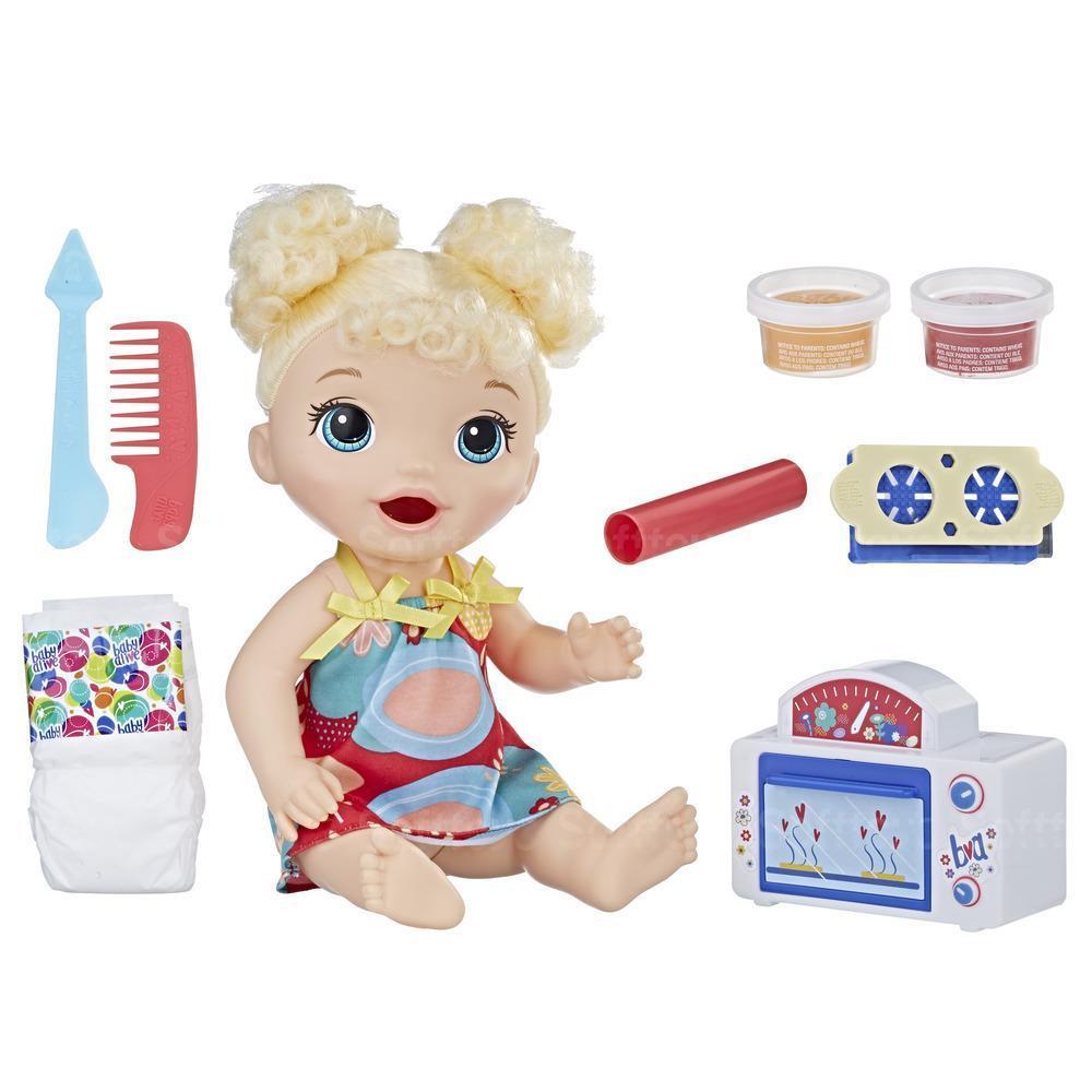 Кукла Baby Alive Малышка и еда