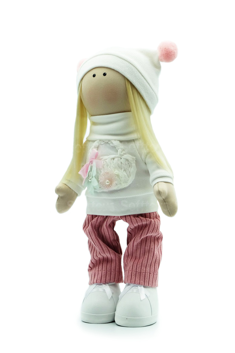 Текстильная Кукла ручной работы Соня