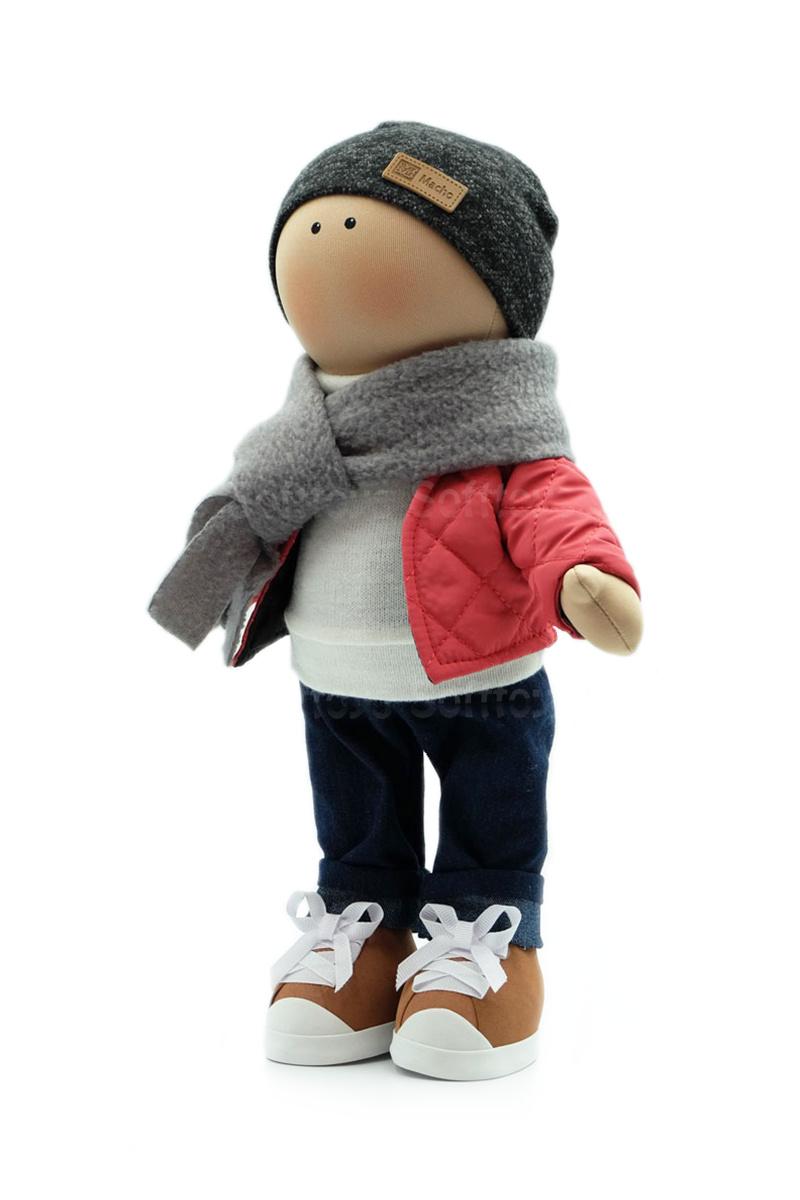 Текстильная Кукла ручной работы мальчик Эдвард