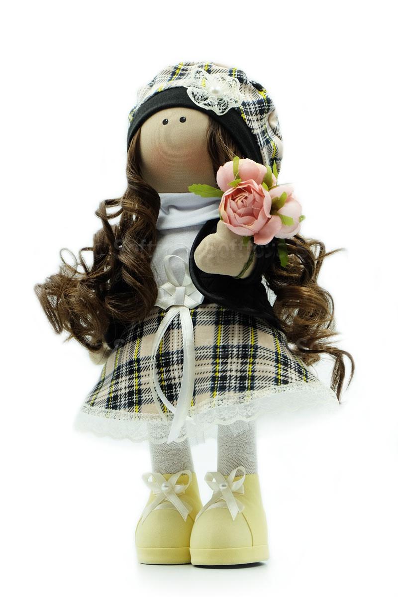 Текстильная Кукла ручной работы Даша
