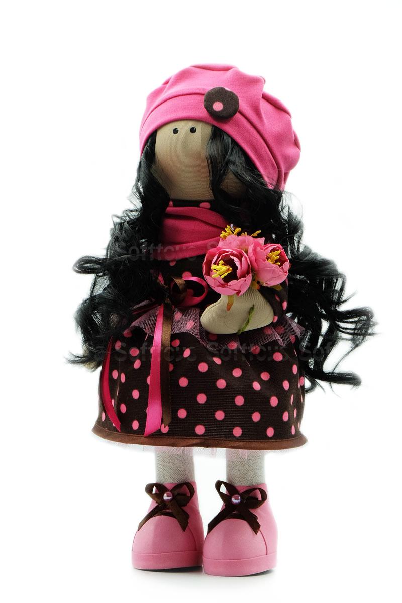 Текстильная Кукла ручной работы Катя