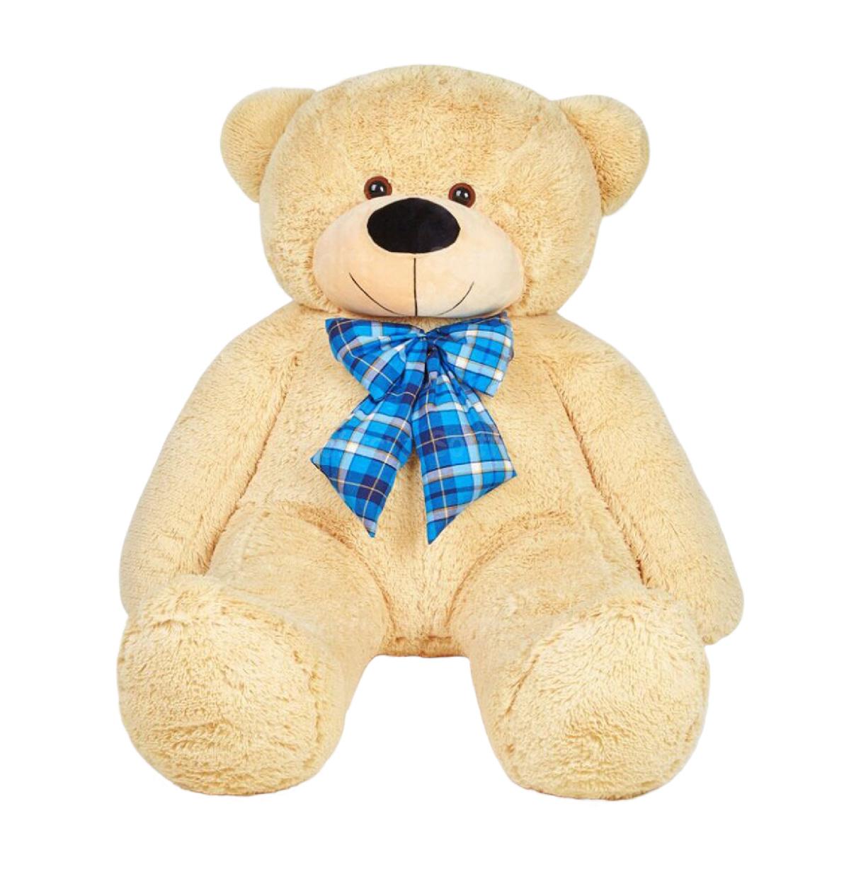 Медведь Брюс (бежевый) 160 см