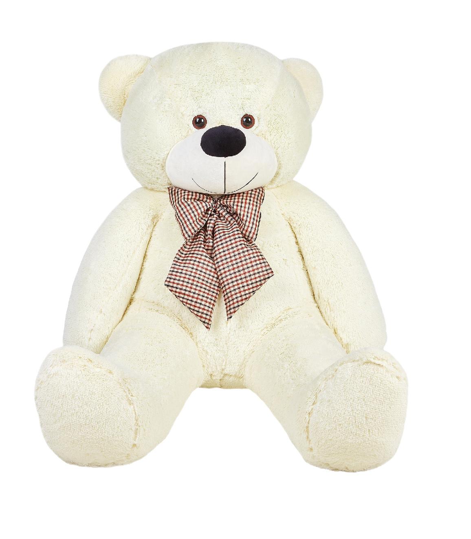 Медведь Брюс (белый) 160 см