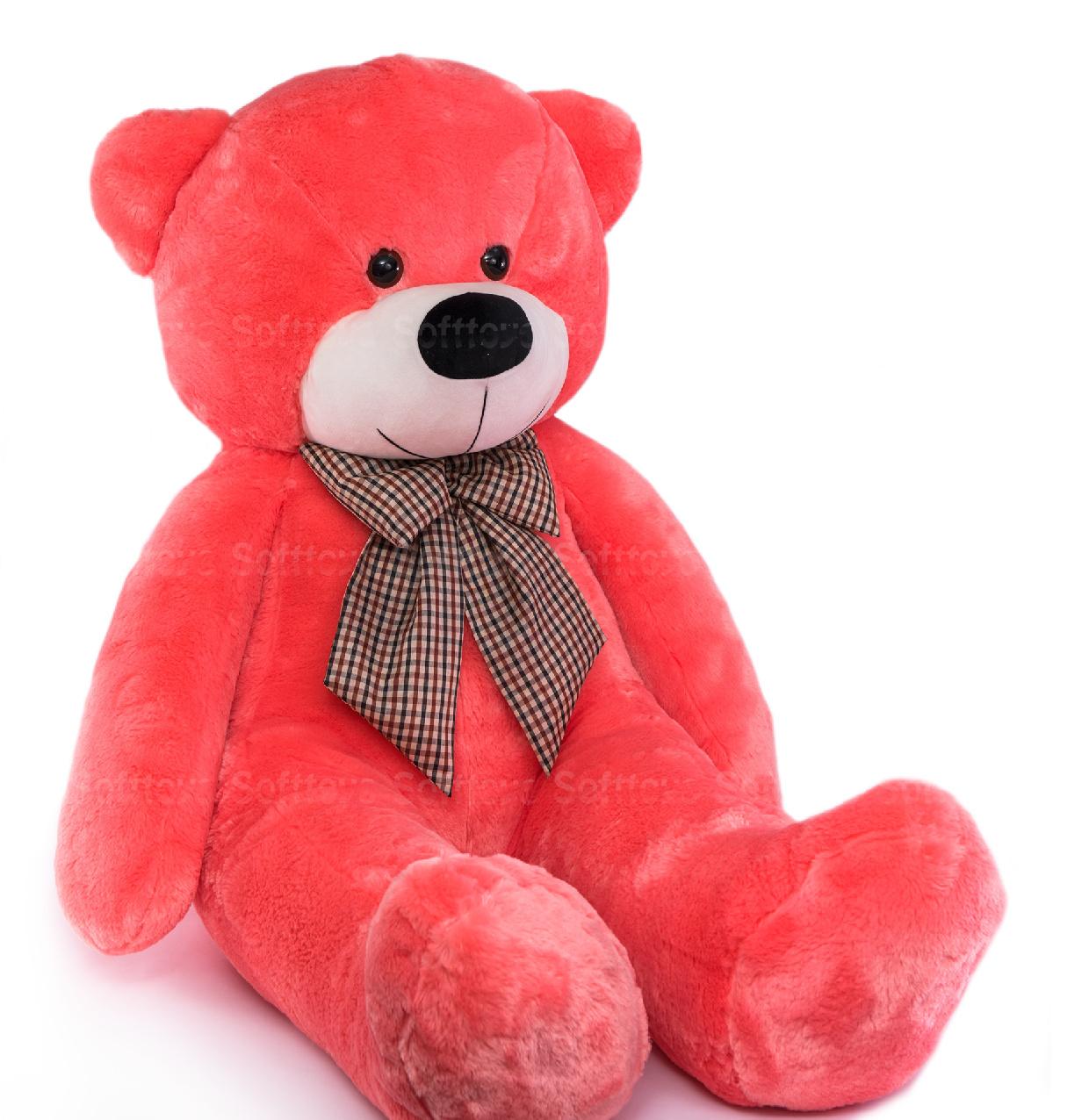 Медведь Брюс (коралловый) 160 см