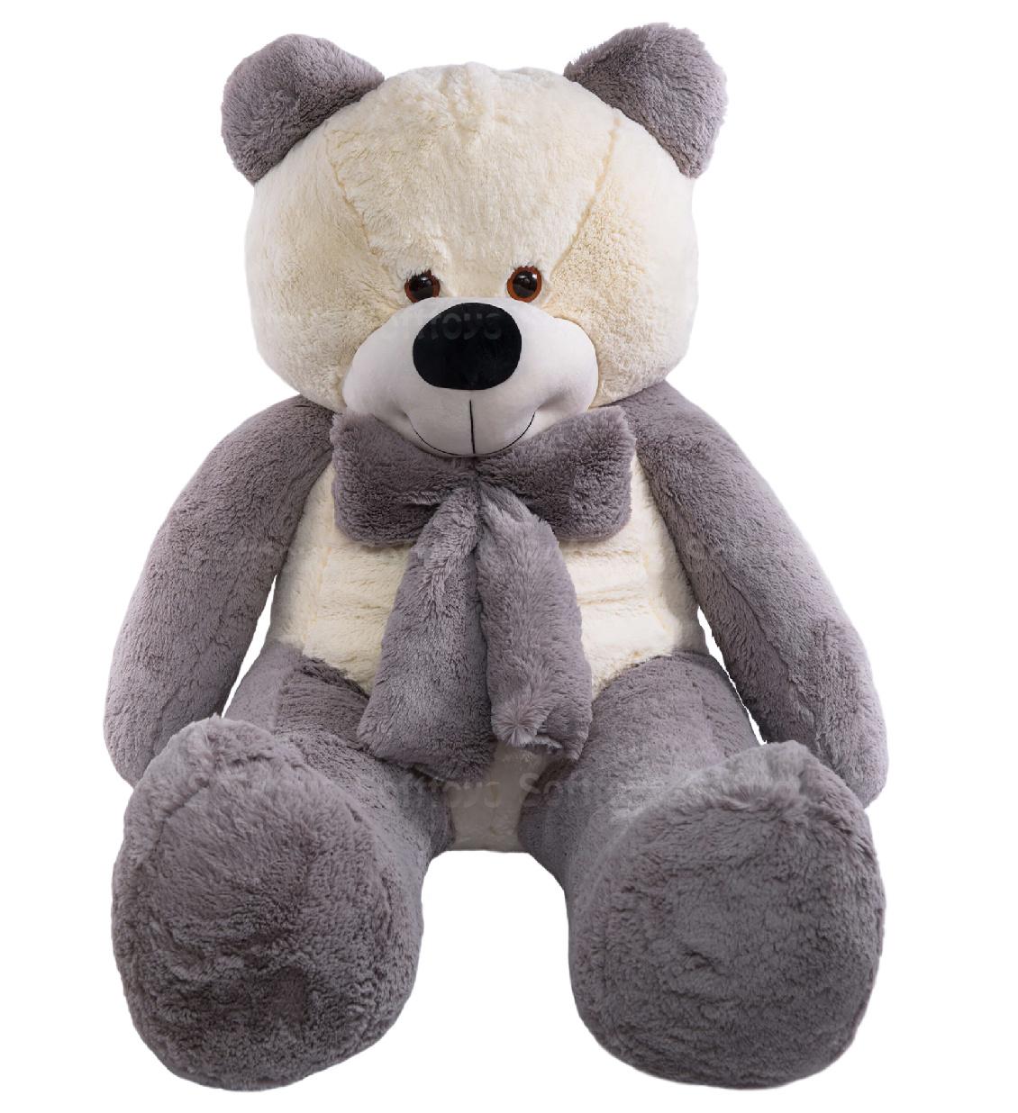 Медведь Брюс (серый) 160 см