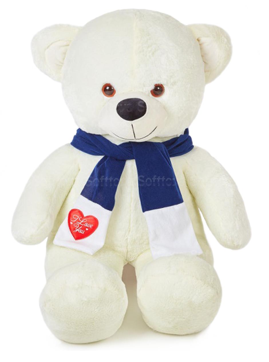 Медведь Потап (Белый) 115 см