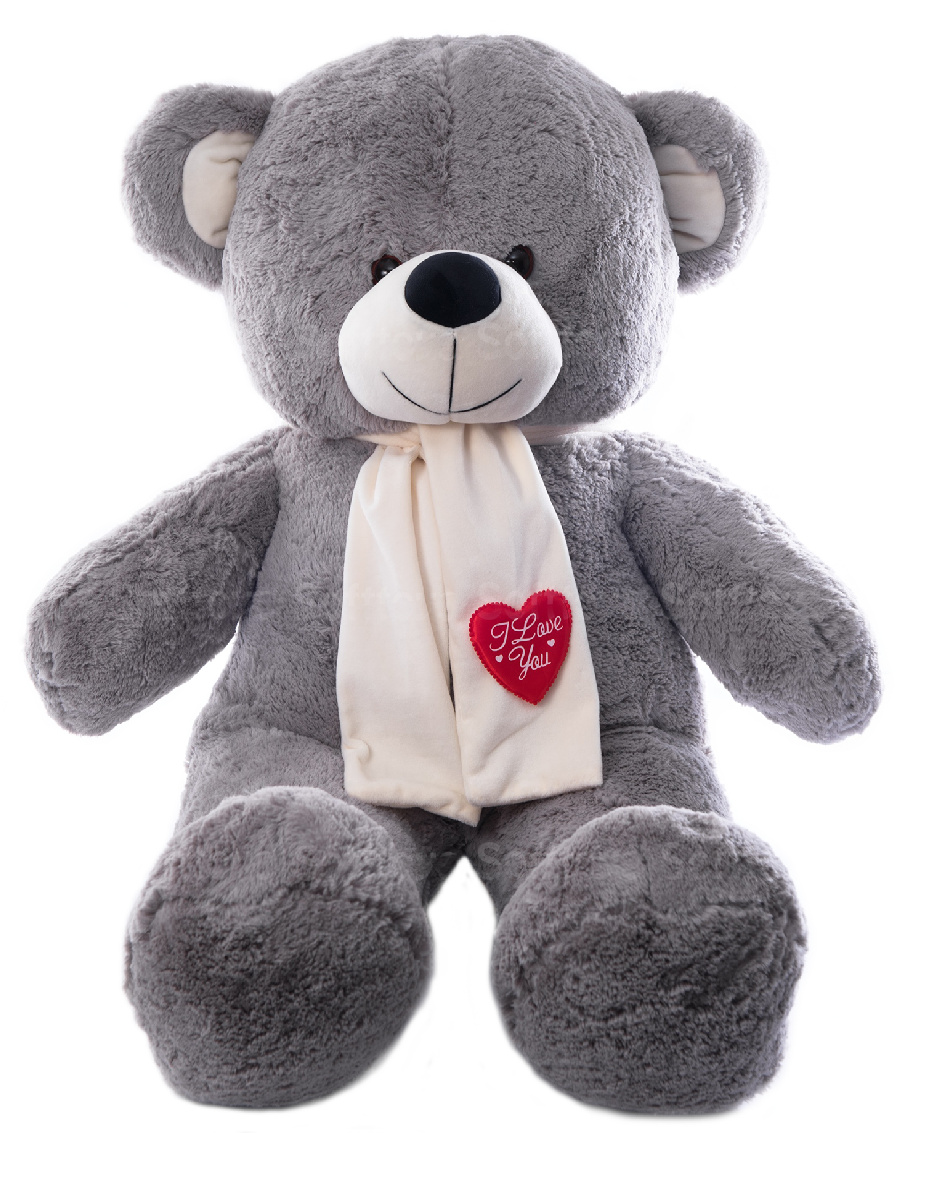 Медведь Потап (Серый) 115 см