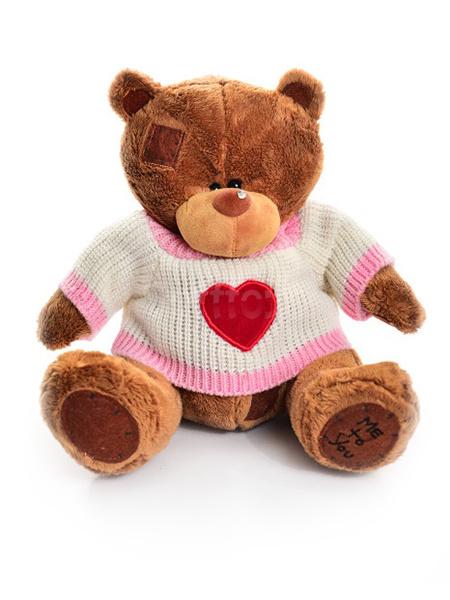 Мишка Тедди в свитере 90 см