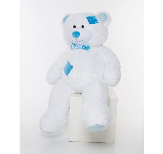 Мистер Медведь с латками 200 см Белый