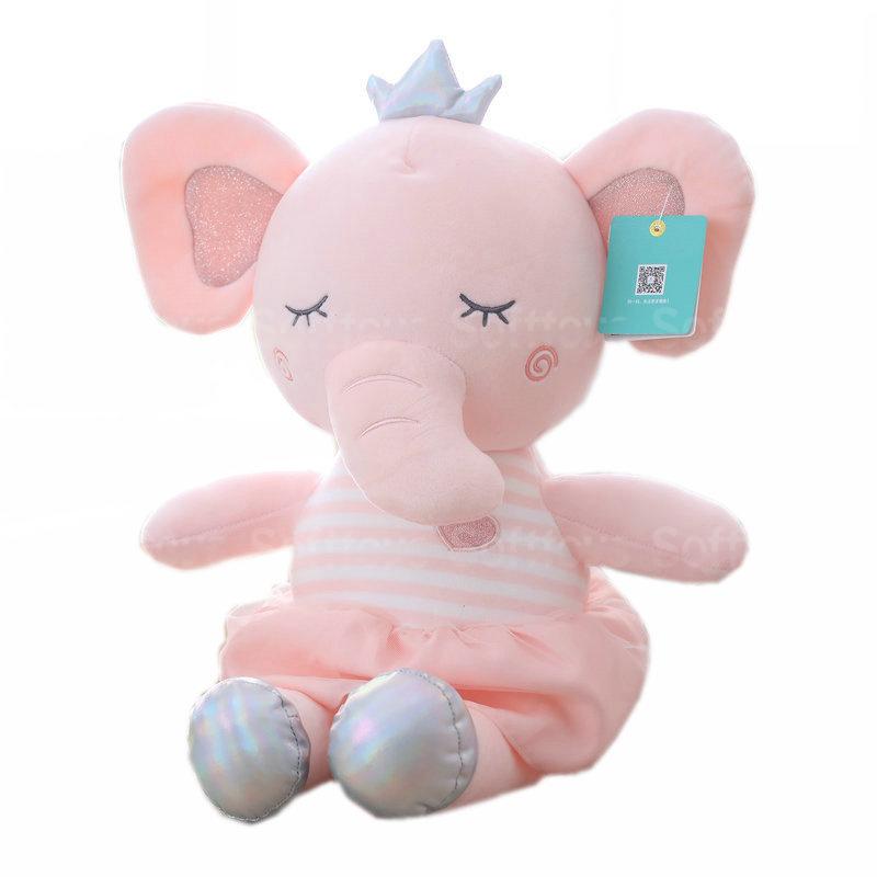 Мягкая игрушка – Розовый слоник