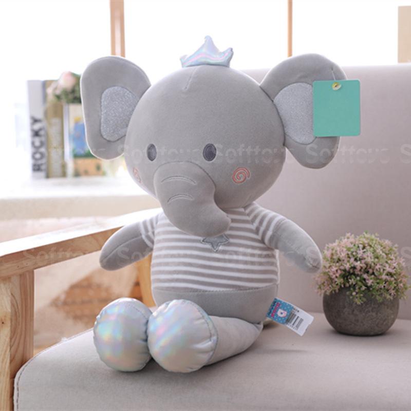 Мягкая игрушка – Серый слоник