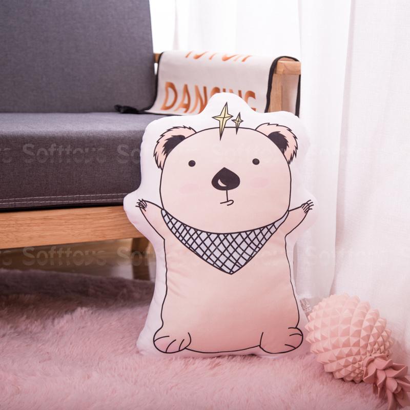 Мягкая игрушка – подушка Обнимающий мишка