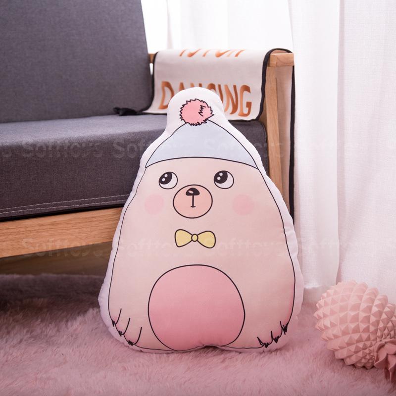Мягкая игрушка – подушка Стеснительный мишка