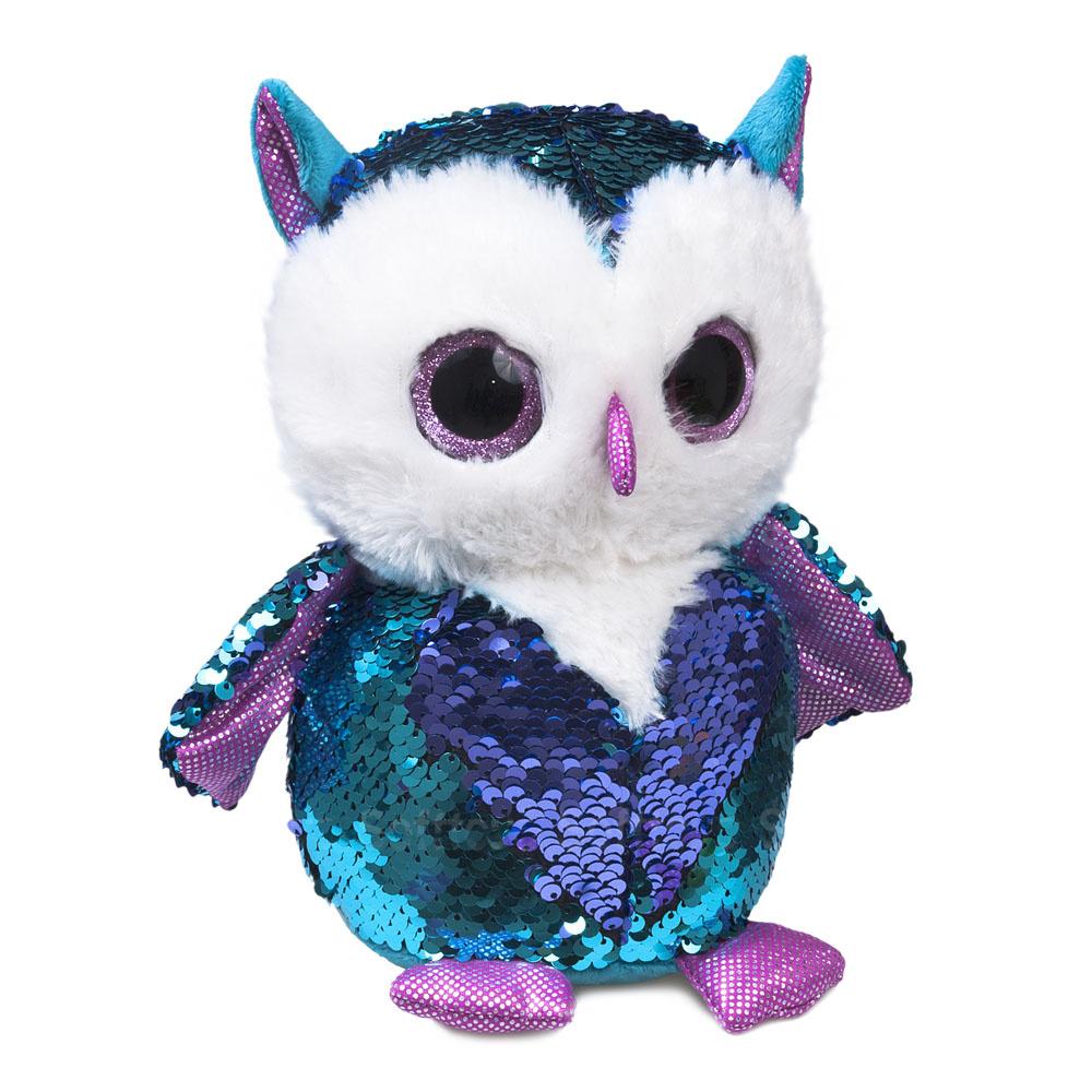 Мягкая игрушка «Блестяшка» Совенок Топаз