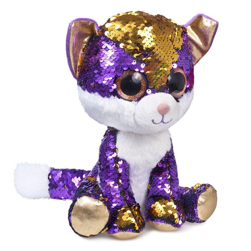 "Мягкая игрушка ""Блестяшка"" Котёнок Аметист"