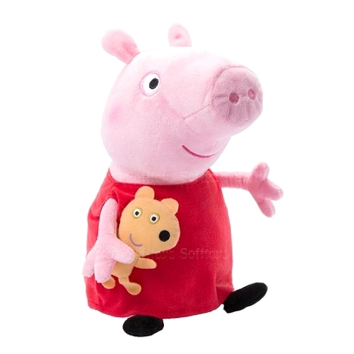 Мягкая игрушка (PeppaPig) Свинка Пеппа с игрушкой