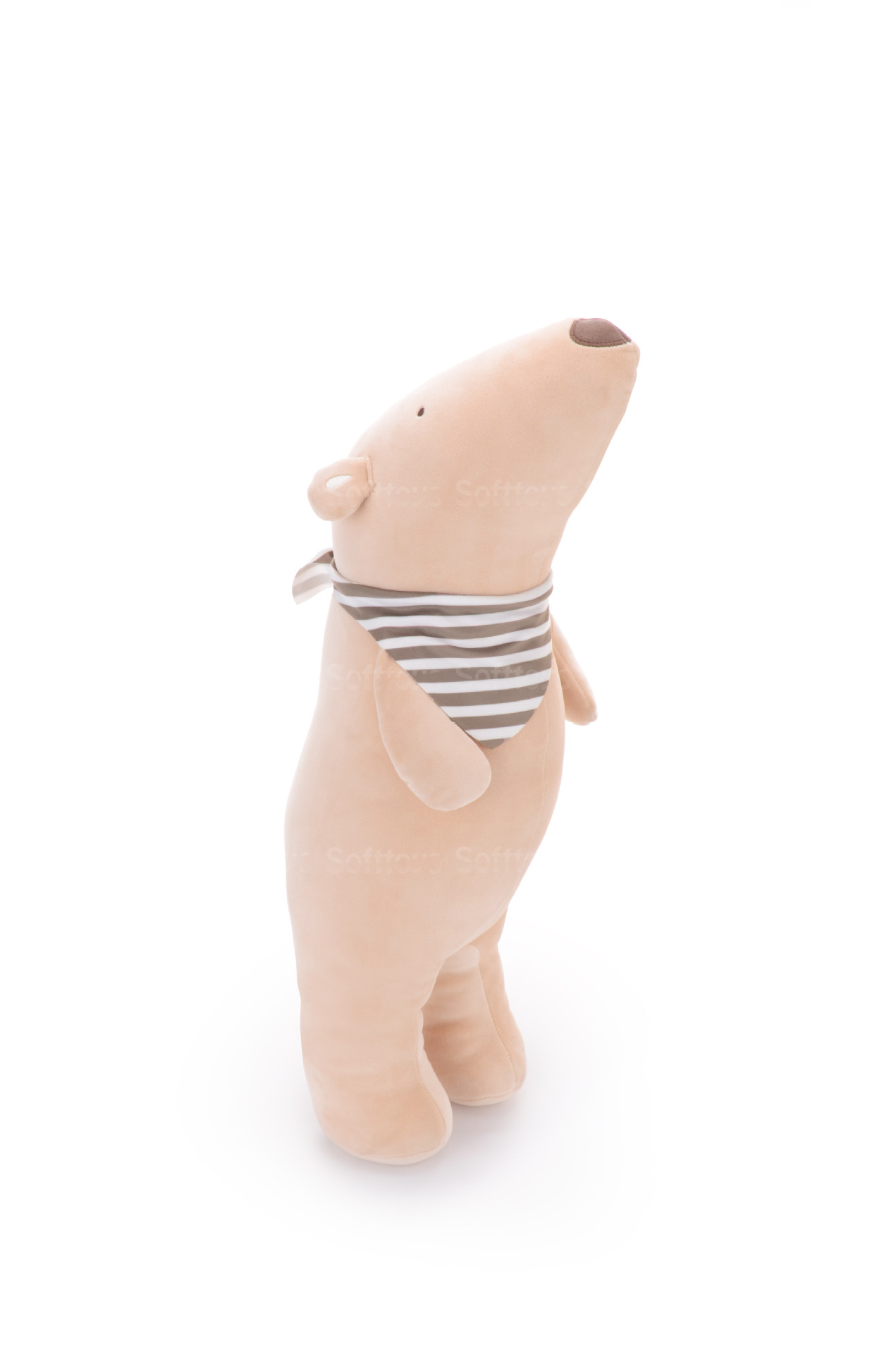 Мягкая игрушка- подушка Мишутка бежевый