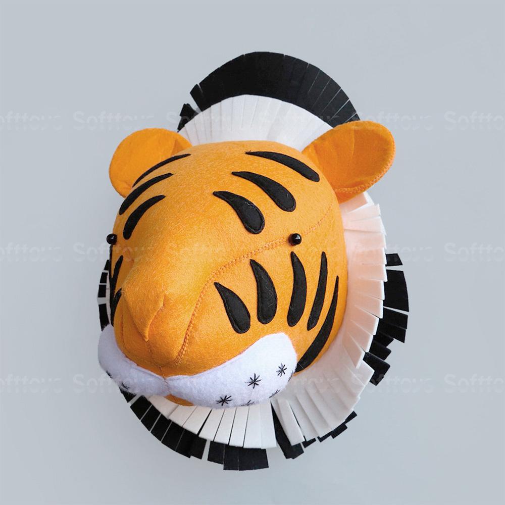 Мягкая игрушка- украшение Тигр