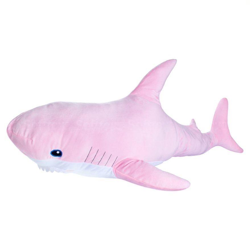 Мягкая игрушка Акула 98см Pink