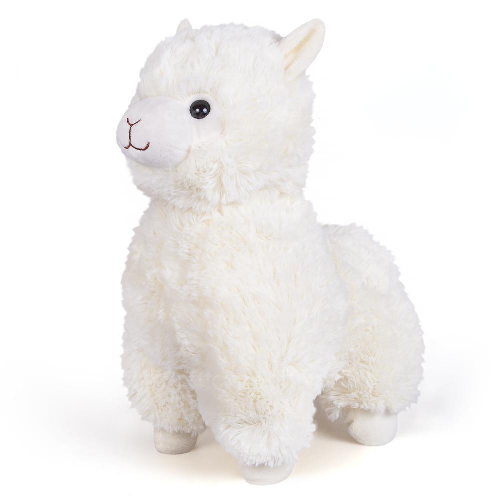 Мягкая игрушка Альпака White