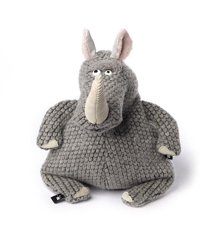 Мягкая игрушка BeastsTown Носорог Ри Ноно