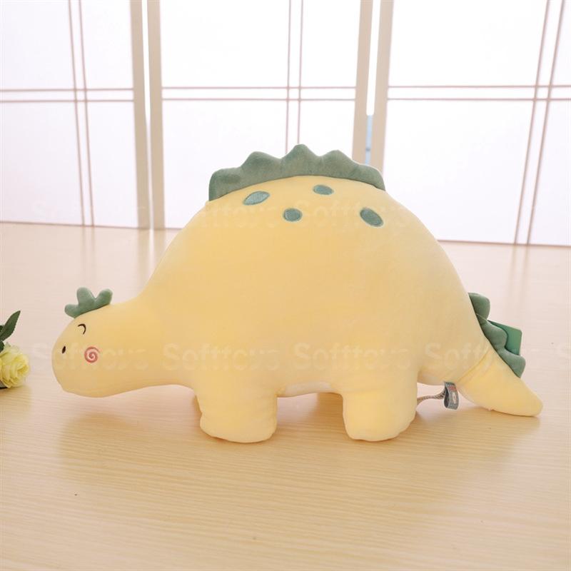 Мягкая игрушка Динозавр Желтый