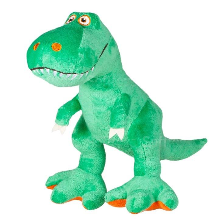 Мягкая игрушка Динозаврик Икки 28 см