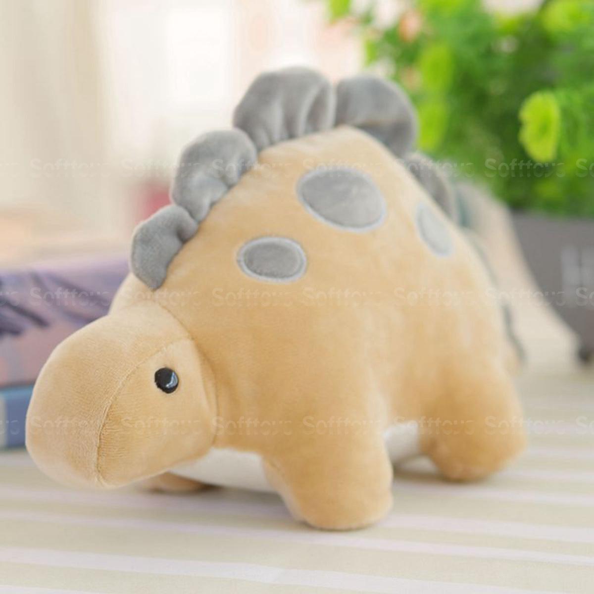 Мягкая игрушка Динозаврик Стегозавр BIG