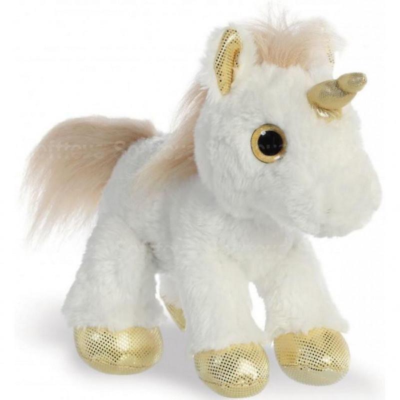 Мягкая игрушка ЕДИНОРОГ Gold 30 см