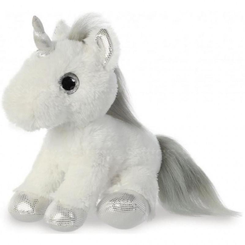 Мягкая игрушка ЕДИНОРОГ Silver 30 см