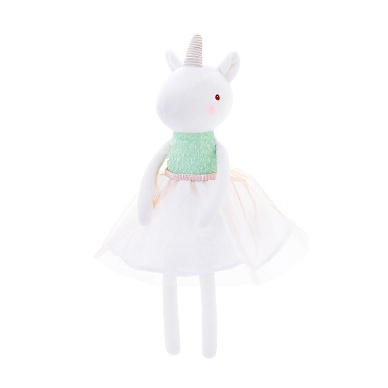 Мягкая игрушка Единорог в юбочке White 33см
