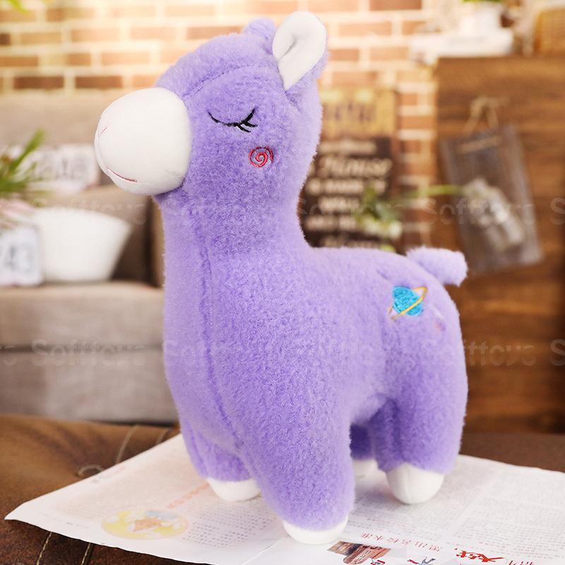 Мягкая игрушка Фиолетовая Лама