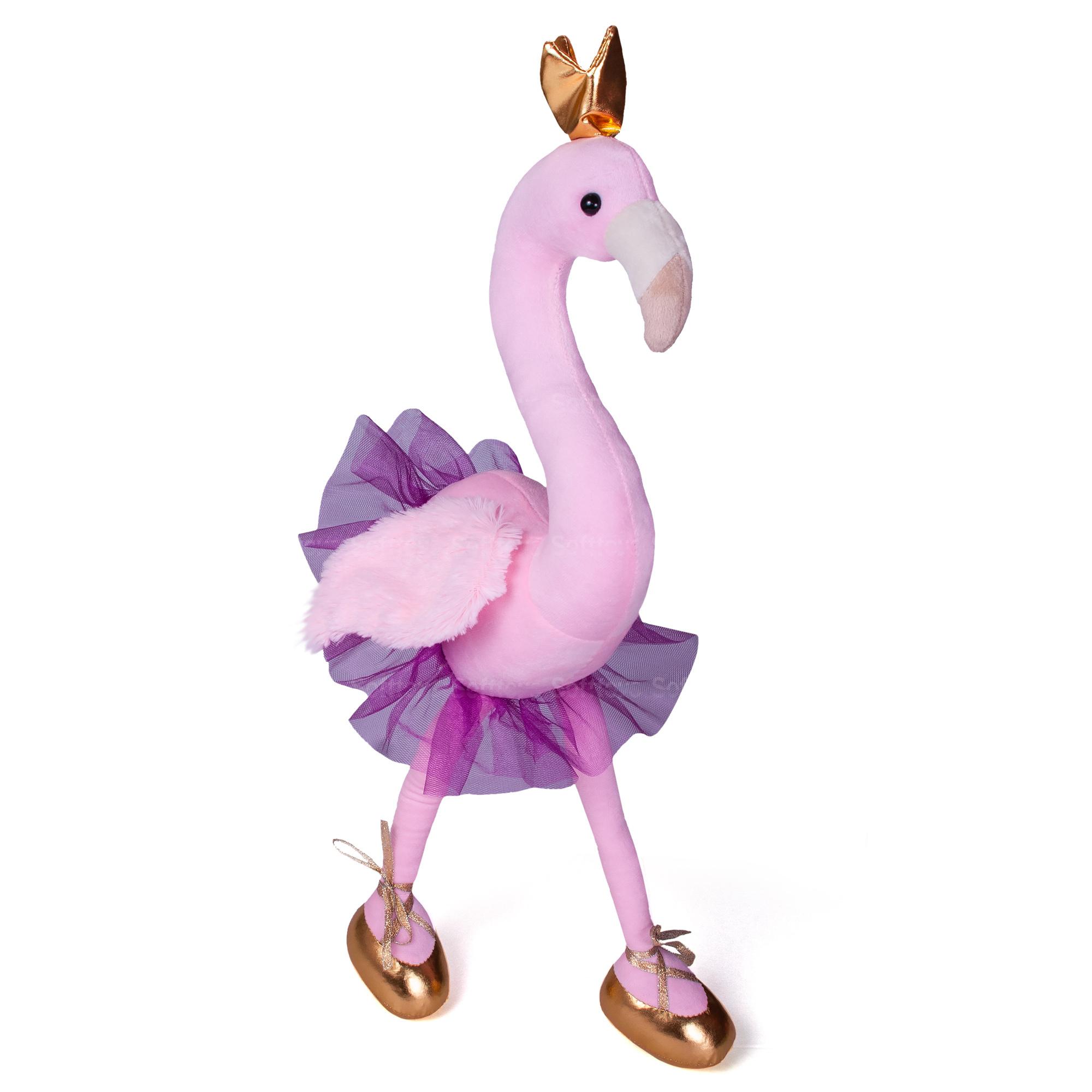 Мягкая игрушка Гламурный Фламинго