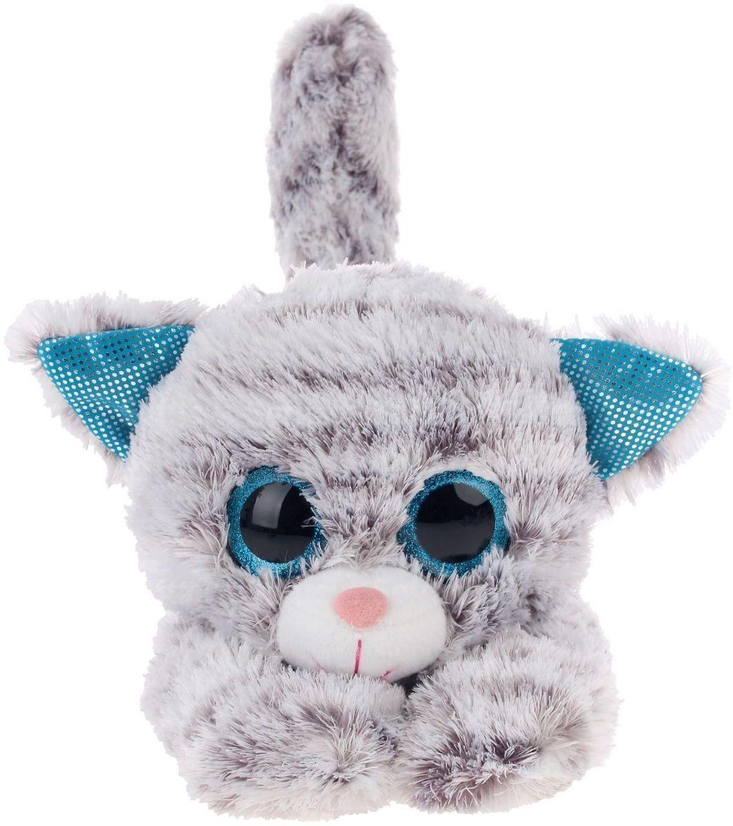 Мягкая игрушка Глазастик Котенок 32 см