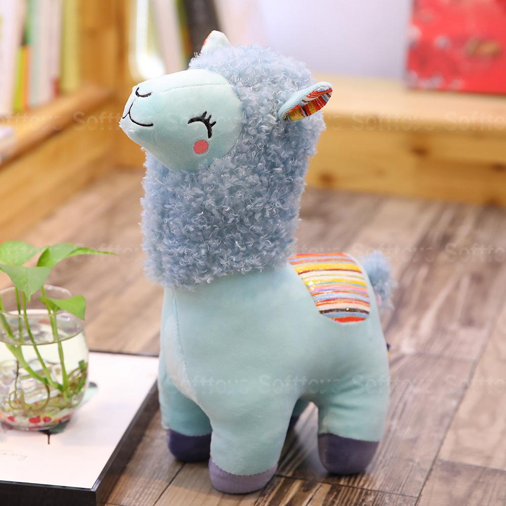 Мягкая игрушка Голубая Альпака