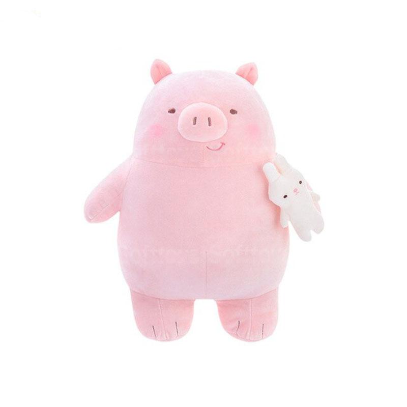 Мягкая игрушка Хрю розовый