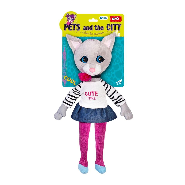 Мягкая игрушка Кошка Сьюзетт 45 см