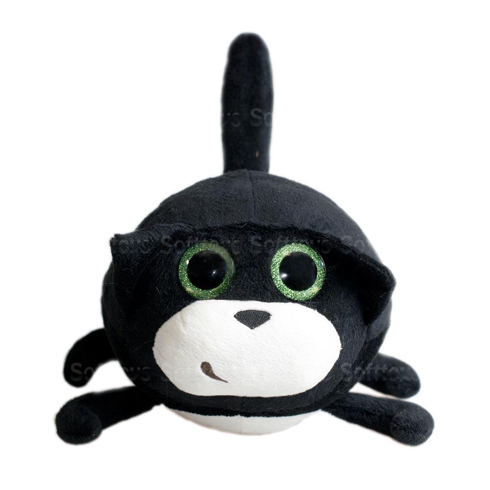 Мягкая игрушка Кот Круглик 17 см