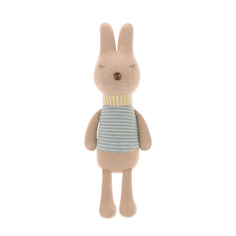 Мягкая игрушка Кролик Brown striped