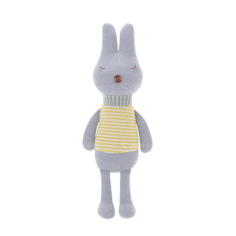 Мягкая игрушка Кролик Gray striped